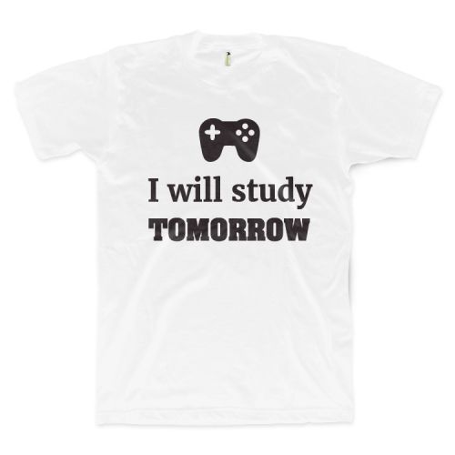 I Will Study Tomorrow