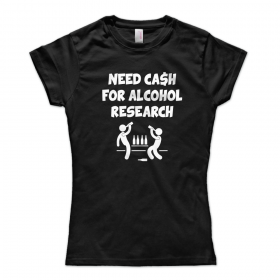 Need Cash For Alcohol Research