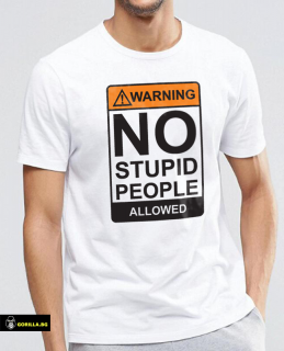No Stupid People Allowed